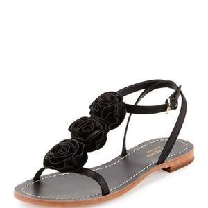 Kate Spade Caryl Rosette t strap Sandal